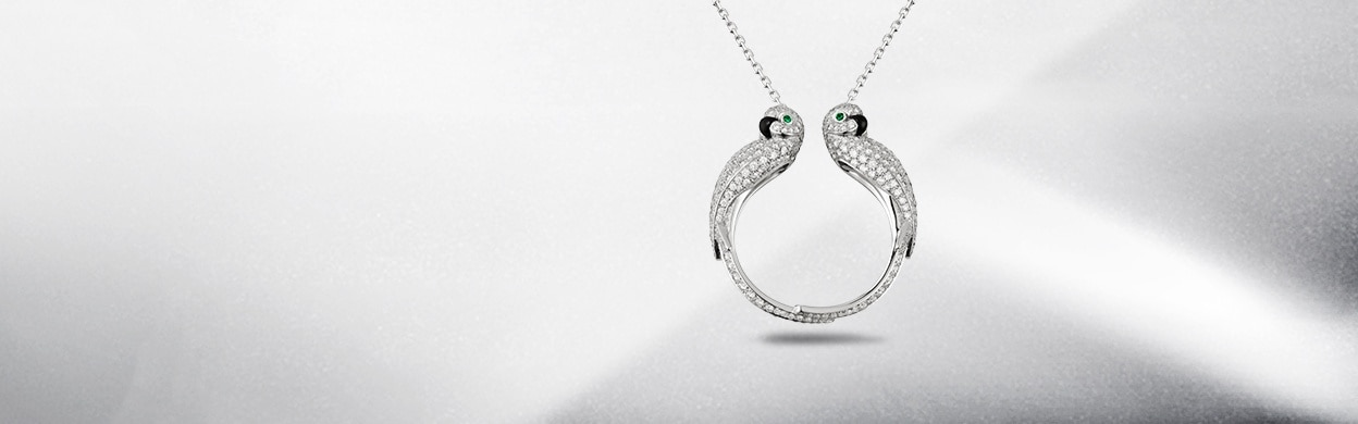 Cartier Fauna and Flora Necklaces