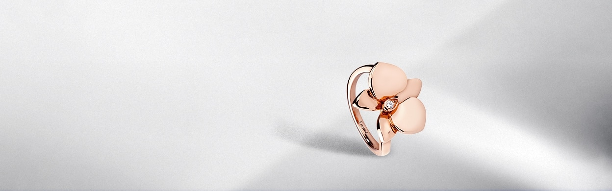 Caresse d Orchidees par Cartier Rings