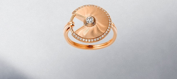 Pink Gold Rings