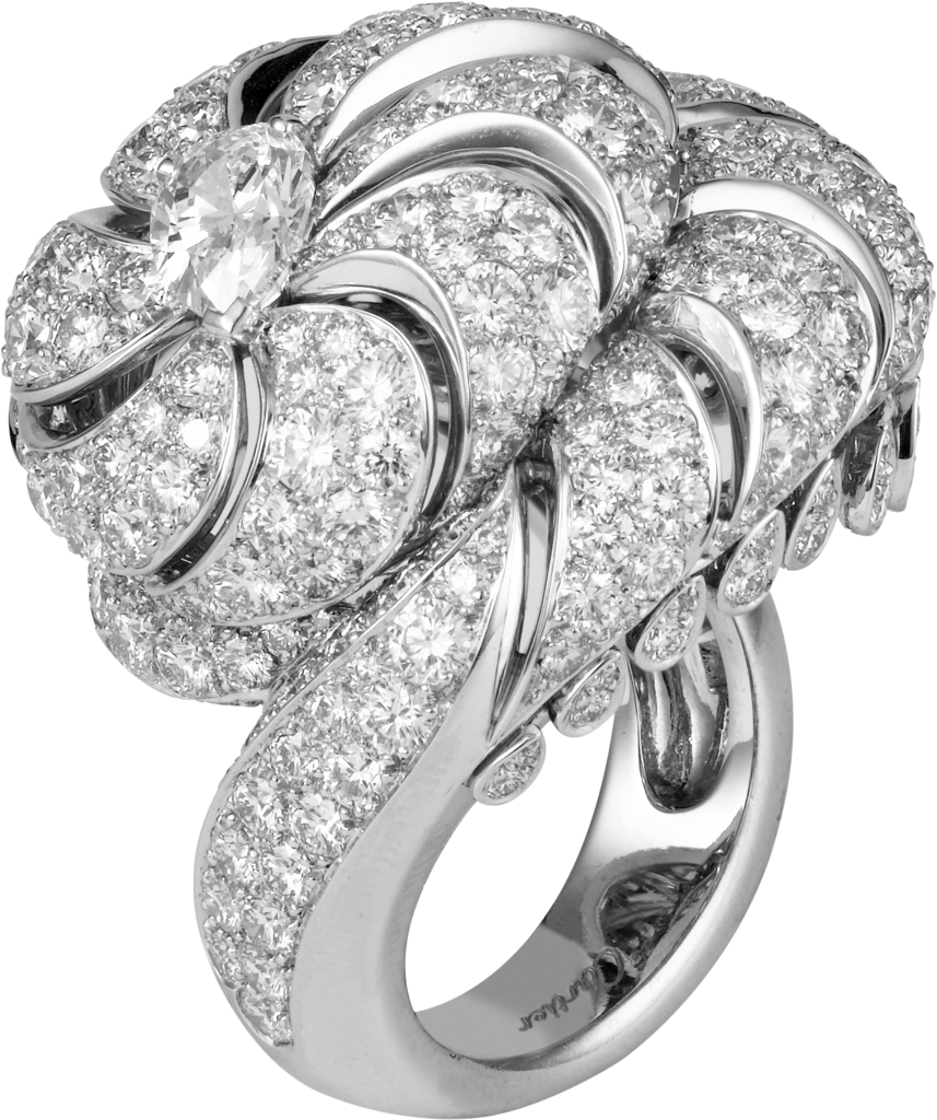 Faune et Flore de Cartier ringPlatinum, diamonds