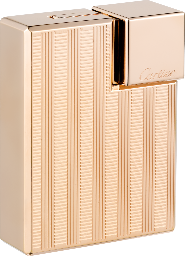 Square braided décor lighterSquare braided décor lighter. Pink golden finish. Dimensions: 38 mm x 15.5 mm x 50 mm