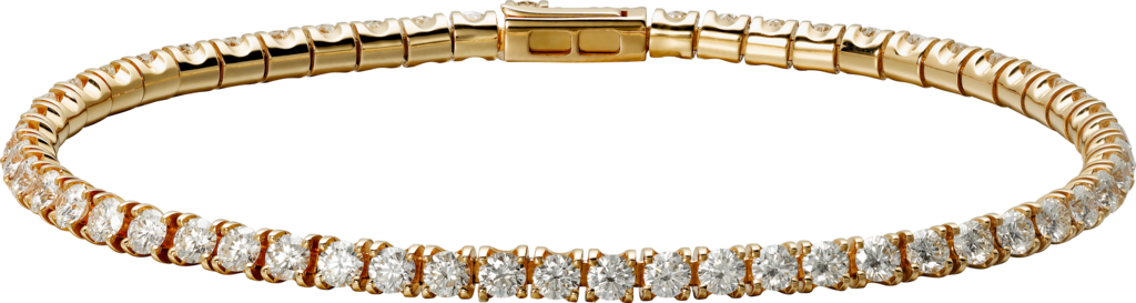 Essential Lines braceletPink gold, diamonds