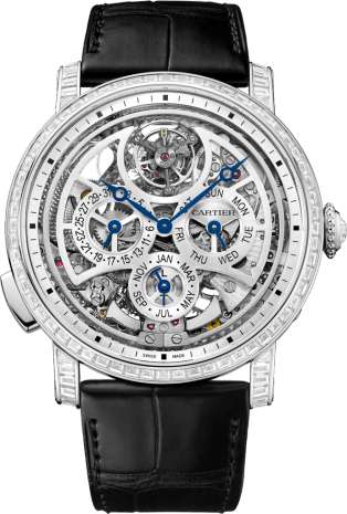 Rotonde de Cartier Grande Complication Skeleton watch
