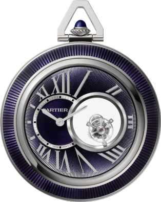 Cartier Mysterious Double Tourbillon pocket watch