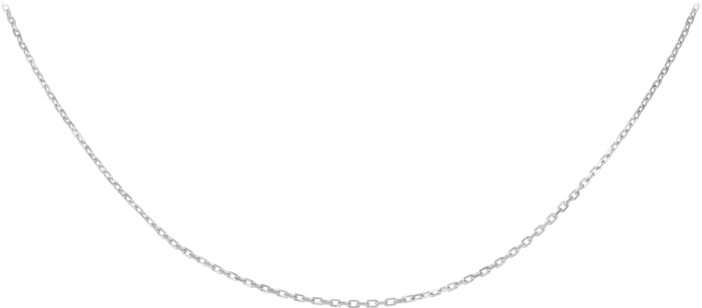 Chain necklaceWhite gold