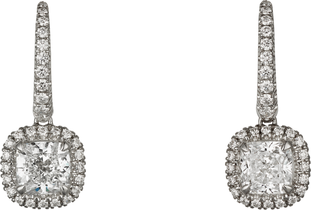 Cartier Destinée earringsWhite gold, diamonds