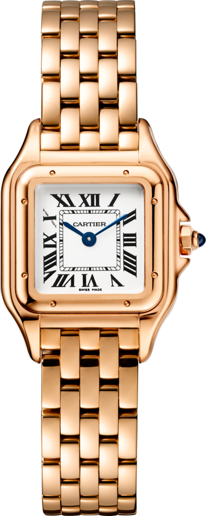 Panthère de Cartier watchSmall model, pink gold