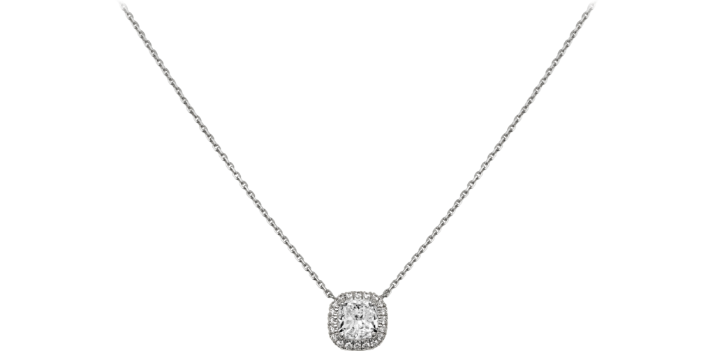 Cartier Destinée necklaceWhite gold, diamonds