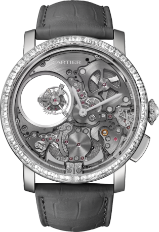 Rotonde de Cartier Minute Repeater Mysterious Double Tourbillon watch