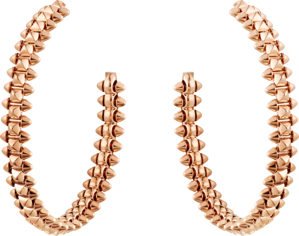 Clash de Cartier earrings Small ModelPink gold