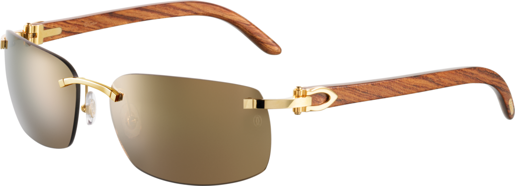 14fe890c973b CRT8200760 - C Décor sunglasses - Bubinga wood