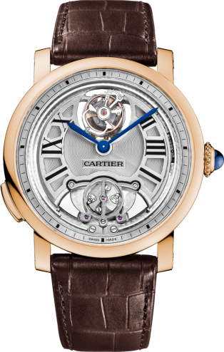 Rotonde de Cartier Minute Repeater Flying Tourbillon watch