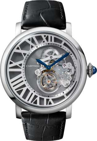 Rotonde de Cartier Flying Tourbillon Reversed Dial watch