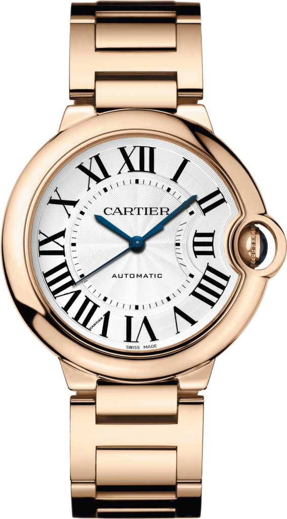 Ballon Bleu de Cartier watch36 mm, 18K pink gold, sapphire