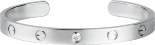 <span class='lovefont'>LOVE</span> bracelet, 1 diamond