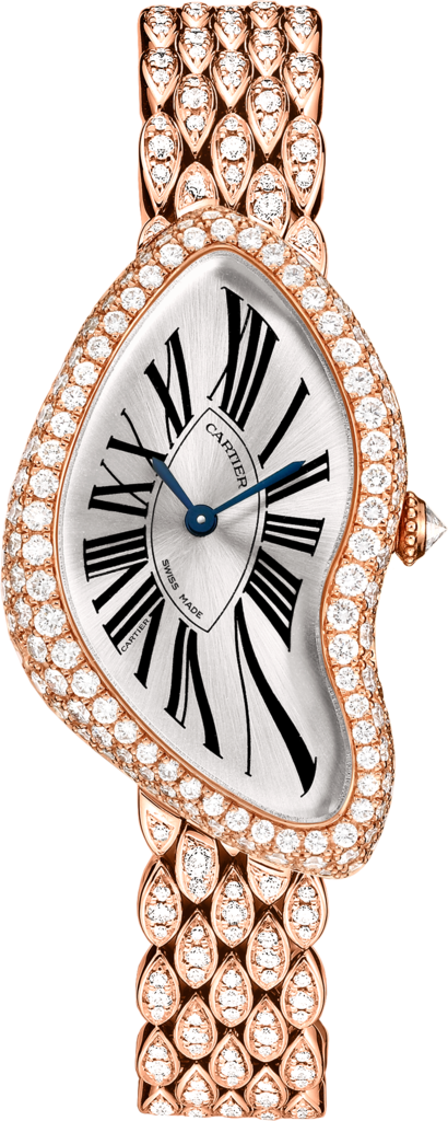 Crash watchPink gold, diamonds