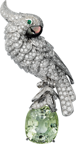 Cartier High Jewelry Fauna and Flora brooch
