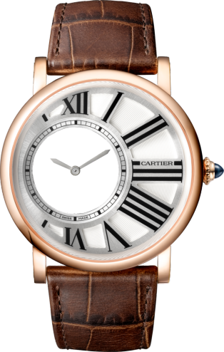 Rotonde de Cartier Mysterious Hour watch
