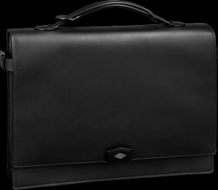 Louis Cartier bag, briefcase with two gussets