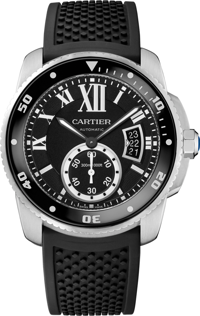 Calibre de Cartier Diver watch42 mm, steel