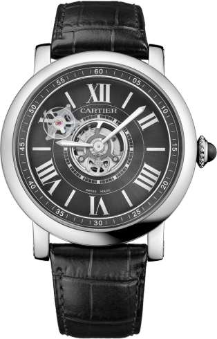 Rotonde de Cartier Astrotourbillon Carbon Crystal watch