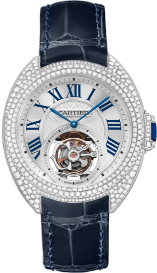Clé de Cartier 35 mm flying tourbillon watch