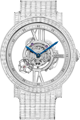 Rotonde de Cartier Astrotourbillon Skeleton watch